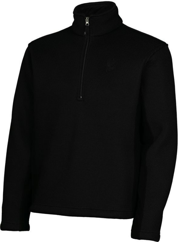715c3d331888 Spyder 1/2 zipp pulóver fekete vagy kék színben ...